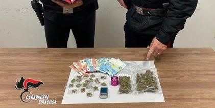 Augusta|Giovane incensurato arrestato per spaccio di droga