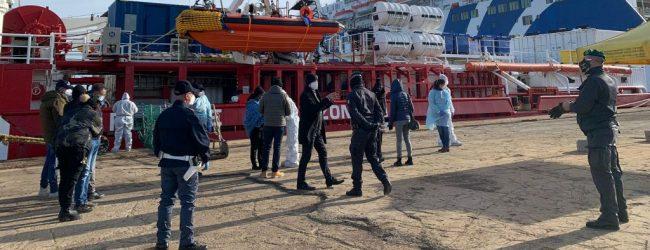 Augusta | Nessun migrante positivo, lo sbarco continua oggi. MS Fiamma Tricolore esprime preoccupazione