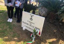 Siracusa | Una lapide del Comune per ricordare i morti delle Foibe