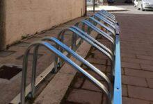 Palazzolo | Stalli per bici e street art