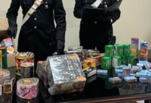Siracusa | Denunciato un uomo che deteneva illegalmente 10 kg di fuochi d'artificio