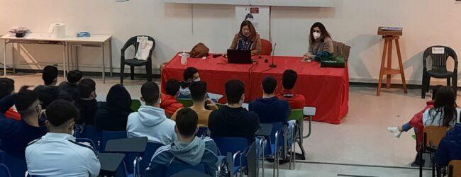 Augusta | Studenti del Ruiz sensibilizzati dalla Fratres alla donazione di sangue