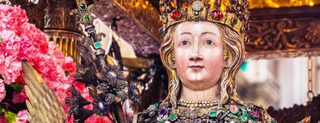 Lentini | Una reliquia di sant'Agata nel Santuario diocesano dei Santi Martiri