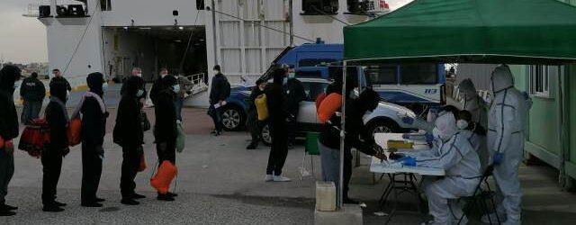 Crotone | Arrestato trafficante di esseri umani sbarcato ad Augusta