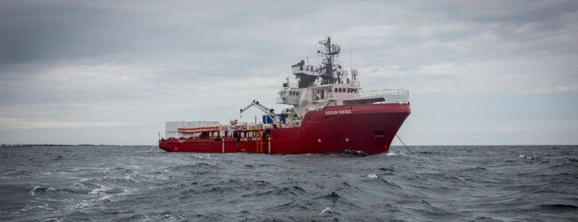 Augusta | La Ocean Viking con 116 migranti a bordo attesa al porto per le 13