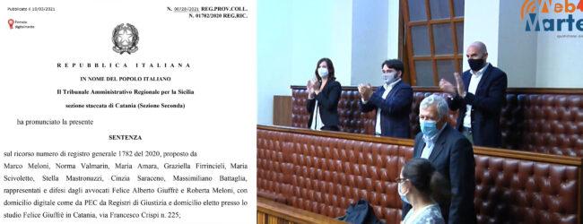Augusta| Il Tar respinge il ricorso presentato da 8 candidati nelle liste collegate al sindaco Di Mare
