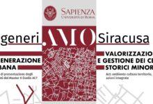 Siracusa | Progetto di rigenerazione urbana on line con l'Università La Sapienza di Roma