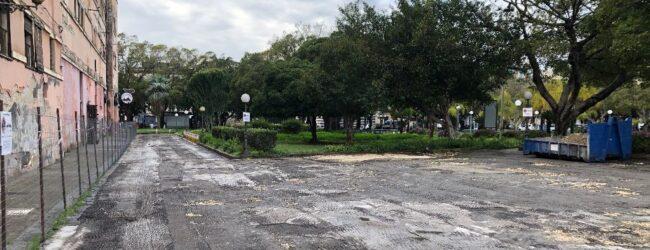 Augusta | Nuovo look per viali e piazzali della villa comunale: avviati i lavori