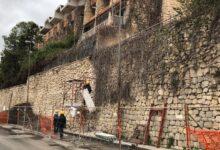 Augusta | Muro ex foresteria: in corso la messa in sicurezza