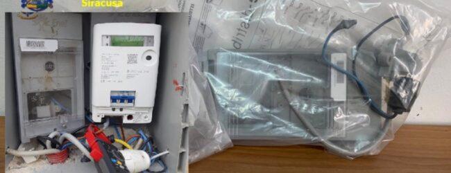 Rosolini | Allaccio elettrico abusivo e un contatore manomesso: denunciate 2 persone
