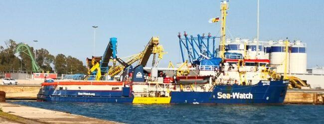 Augusta | Nel porto fermo amministrativo della Sea Watch 3