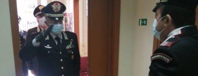 Siracusa | Il generale di Brigata Castello visita l'Arma in provincia