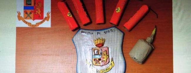 Lentini | Una bomba carta e dieci candelotti in casa, arrestato 35enne