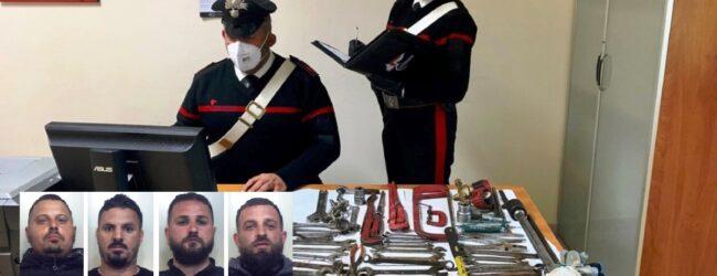Carlentini   Rubavano un'impalcatura edile, sorpresi e arrestati dai carabinieri