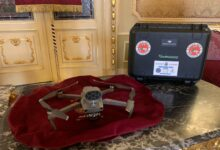 Noto | Un drone per la lotta contro gli incendi