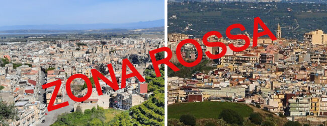 """Impennata di contagi, Lentini e Carlentini sono ora in """"zona rossa"""""""