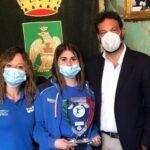 Siracusa | Carlotta Abbate, campionessa italiana di boxe premiata da Italia