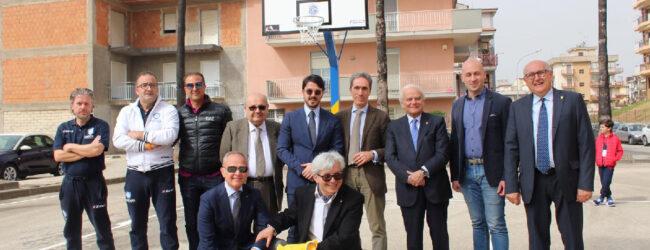Lentini | Campo di basket in piazza Madonna del Castello, nessun illecito del club Lions