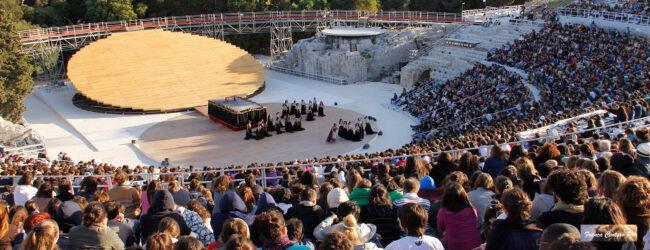 Siracusa   Il Teatro Greco di Siracusa potrà ospitare fino a tremila persone