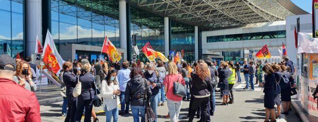 Catania | Sciopero nazionale del settore aereo, aeroportuale e indotto