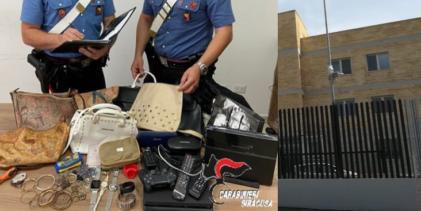 Augusta   Ruba in un appartamento: arrestato dai Carabinieri