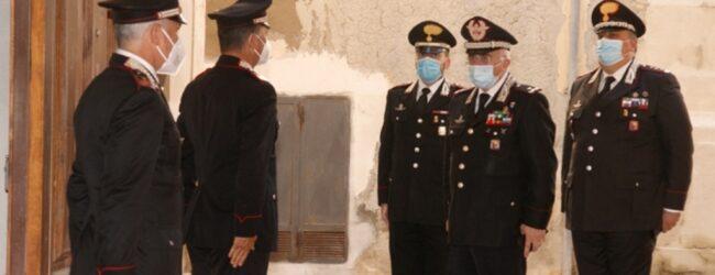 Siracusa   Il generale Castello in visita al comando provinciale dei carabinieri