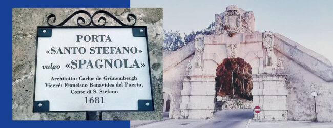 """Augusta   Una nuova tabella per la monumentale """"Porta Santo Stefano"""""""