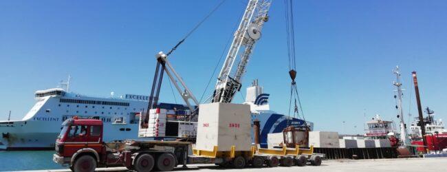 Augusta | Porto: completato il primo lotto di rifiorimento della diga foranea