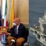 Augusta | Il sindaco al capitano della Queen Elizabeth: grazie per aver scelto il nostro porto