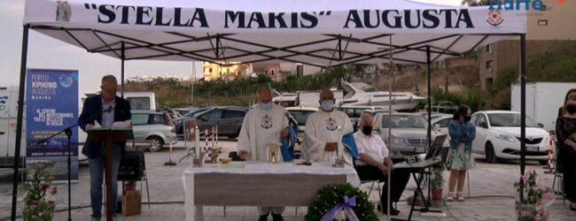 Augusta | Madonna Stella Maris per l'accoglienza, cerimonia nel porticciolo turistico