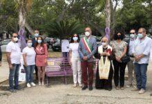 Augusta | Panchina lilla per manifestare vicinanza a chi è affetto da disturbi alimentari
