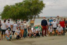 Augusta | Spiaggetta Granatello ripulita dai volontari di Rotaract e Interact