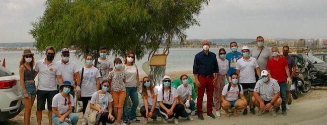 Augusta   Spiaggetta Granatello ripulita dai volontari di Rotaract e Interact