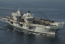 Augusta | La portaerei Queen Elizabeth guidata dall'Andrea Doria della Marina italiana