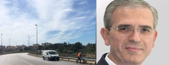 Augusta | Viadotto e Scardina: due luoghi che l'assessore Falcone visiterà lunedì per avvio lavori e interventi in corso