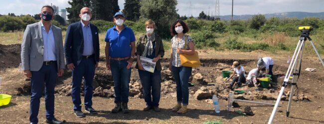Augusta | Megara Hyblaea: sindaco e assessori visitano gli scavi in corso