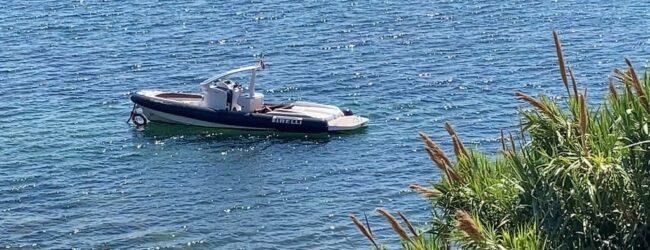 Augusta   Ritrovato gommone rubato ormeggiato a 30 metri dalla spiaggia