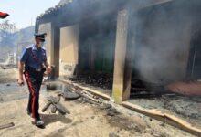 Buscemi   Vasto incendio in localita' Boscorotondo: evacuate molte abitazioni