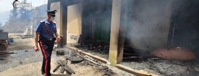 Buscemi | Vasto incendio in localita' Boscorotondo: evacuate molte abitazioni