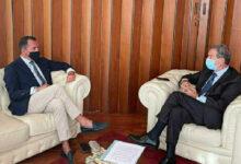 Catania | L'ammiraglio Nicola De Felice ricevuto al PalaRegione da Musumeci