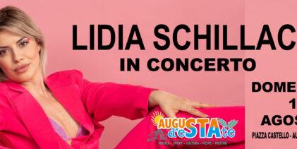 Augusta | Lidia Schillaci in concerto nell'area spettacoli di piazza Castello