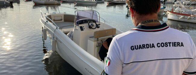 Augusta | La Guardia Costiera recupera natante rubato a Furci Siculo