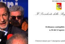 Sicilia | Covid, Musumeci firma ordinanza per limitare contagi