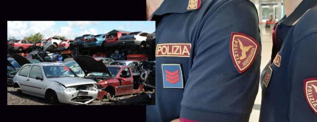 """Sicilia   Operazione """"Oro Rosso"""". Gestione abusiva di rifiuti speciali. Rottamatore denunciato"""