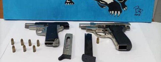 Siracusa | Sorpreso in casa con due pistole mentre era ai domiciliari