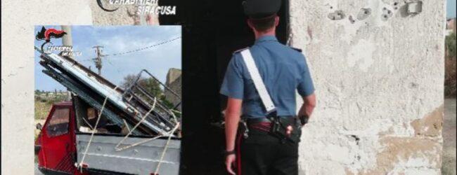 Augusta   Ladri di infissi e materiale ferroso: arrestati dai carabinieri