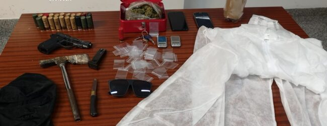 Floridia   Arrestati due avolesi in possesso di armi e droga