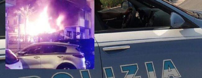 Siracusa   Incendio in via Tisia: 4 agenti della polizia intossicati dai fumi, residenti salvi