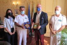 Augusta| Visita alla Capitaneria di porto del direttore marittimo della Sicilia orientale