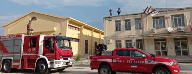 Augusta | Plessi del Megara oggi chiusi: tromba d'aria abbatte pannello fotovoltaico